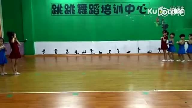 跳跳舞蹈室才艺展示2