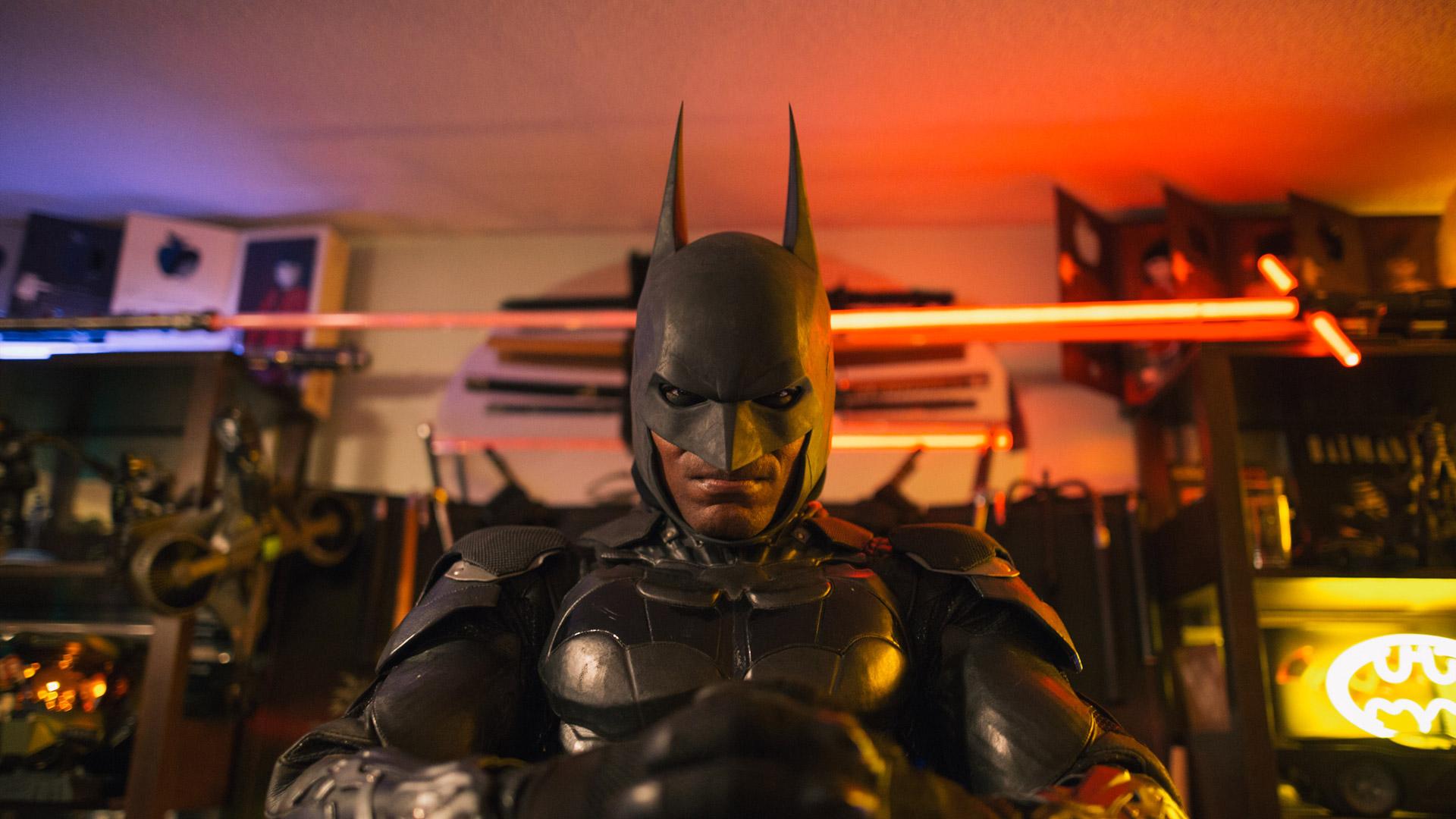 骨灰级偶像崇拜短片《成为蝙蝠侠》
