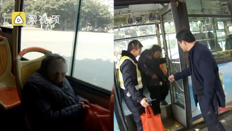 心酸:因感到孤独 老太自备干粮常坐公交兜圈