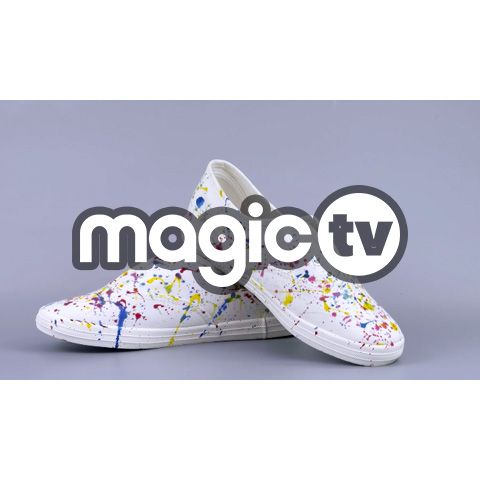 涨姿势 小白鞋 教你3招小白鞋改造大法,白鞋从此不单调,酷炫又立体。@魔力TV 涨姿势  小白鞋