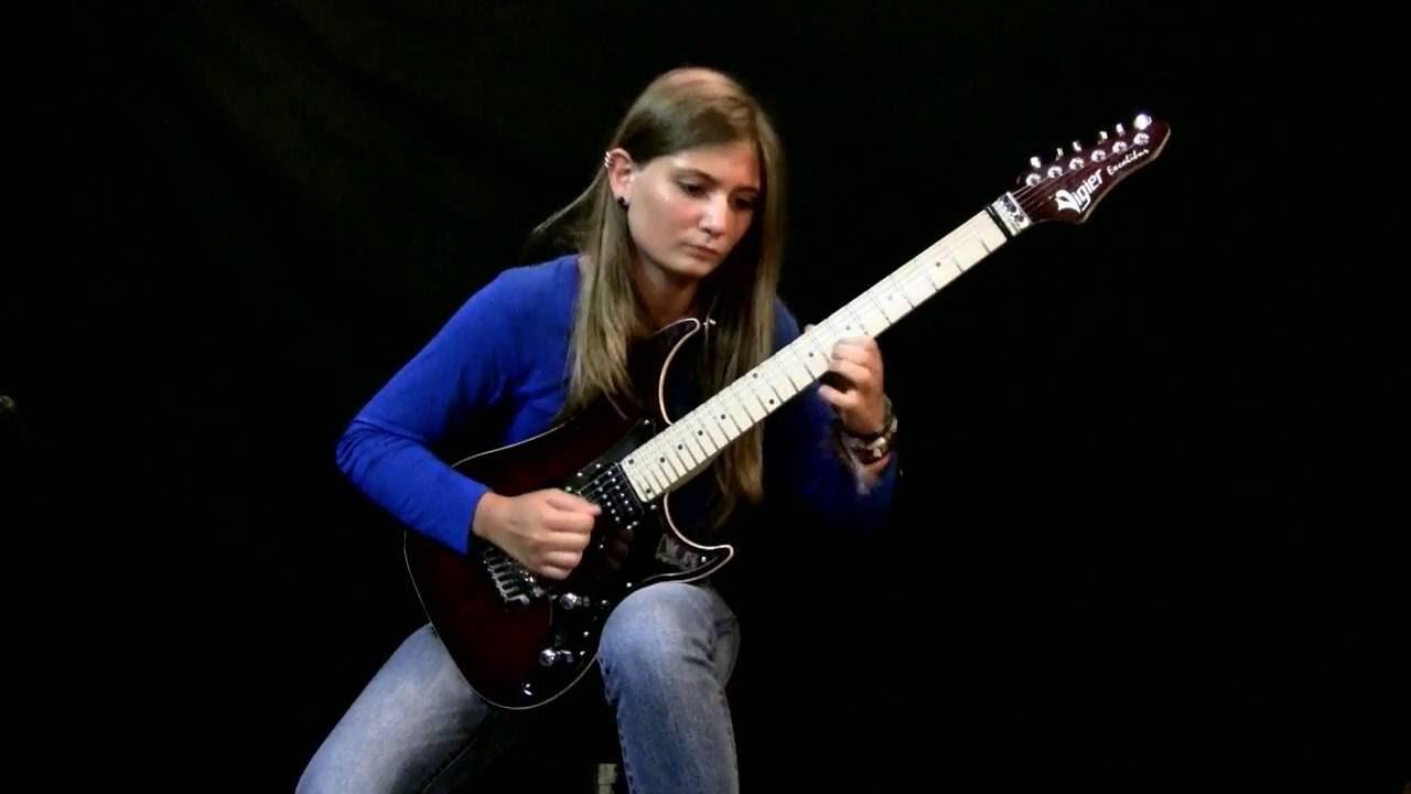 【音乐】 技惊四座 技惊四座 【金属吉他小天后 Tina S - 贝多芬 月光奏鸣曲】让大师紧张的女吉他手 法国小女孩