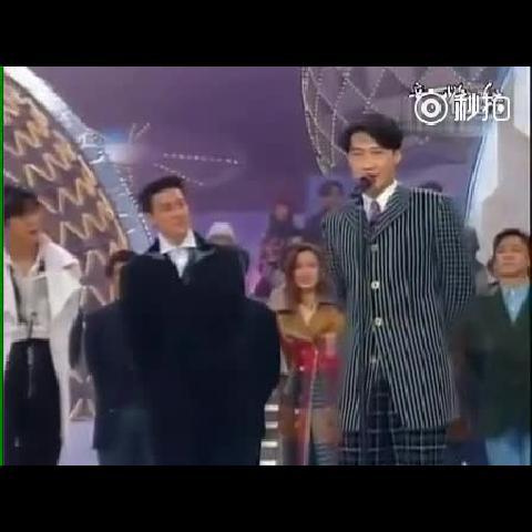 珍贵视频:93年四大天王、王菲金曲串烧,你们觉得谁唱得好?