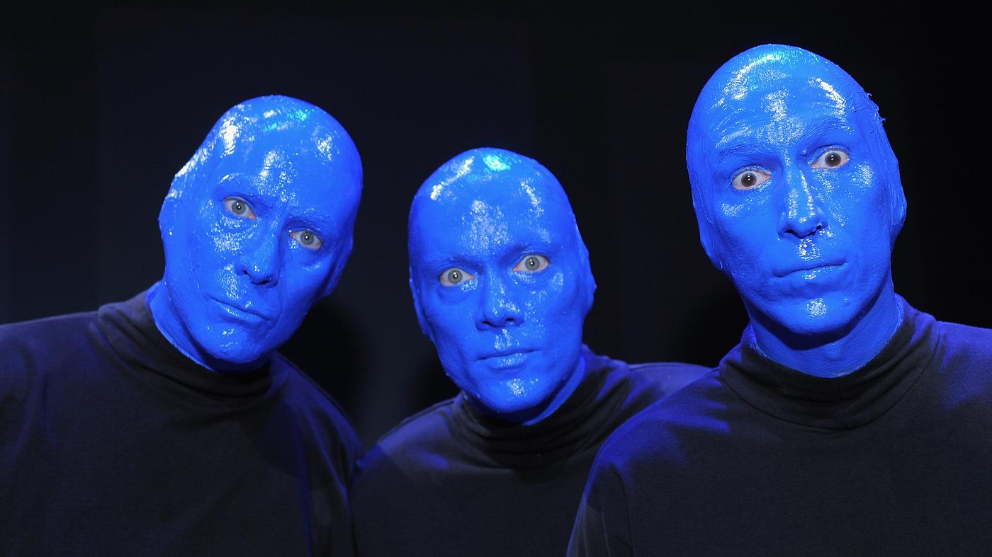 【音乐】 技惊四座 行为艺术音乐家 - 蓝人 惊艳全球的舞台演出