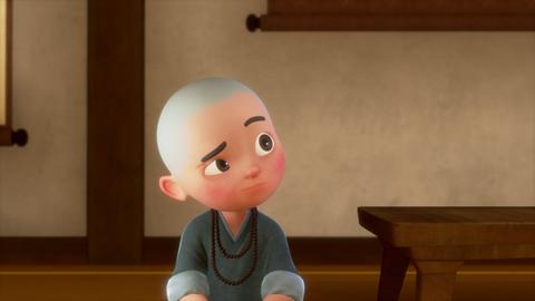 师父说,要学会举一反三,但是一禅听了师父的话却又被师父罚了,这是为什么啊……一禅小和尚的秒拍视频