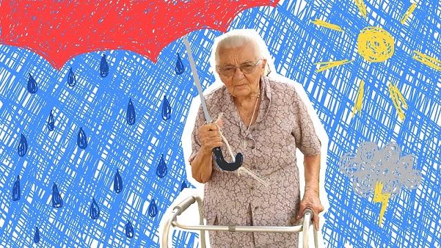 有趣的短视频 ZoominTV 巴西96岁的气象小姐~
