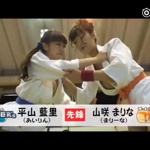 喜闻乐见的日本综艺节目,柔道比赛,我真是来看比赛的