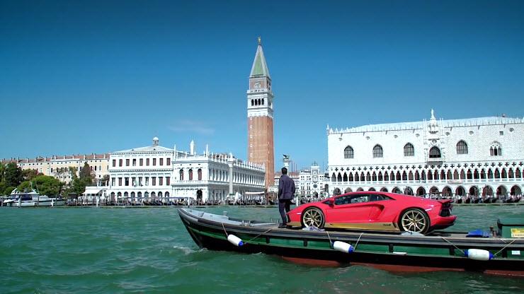 【汽车】兰博基尼与威尼斯——艺术与排他的完美结合