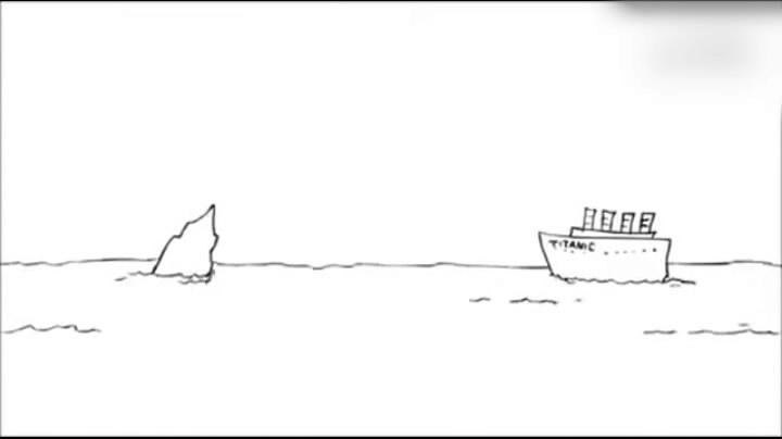 原来这才是泰坦尼克号沉没的真相……这突破天际的脑洞我服!