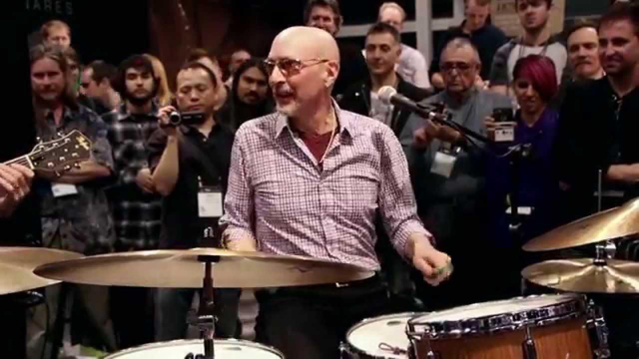 2016北京现代国际鼓手节 2016北京现代国际鼓手节 【美国鼓王 - Steve Smith - 精采爵士鼓现场表演】