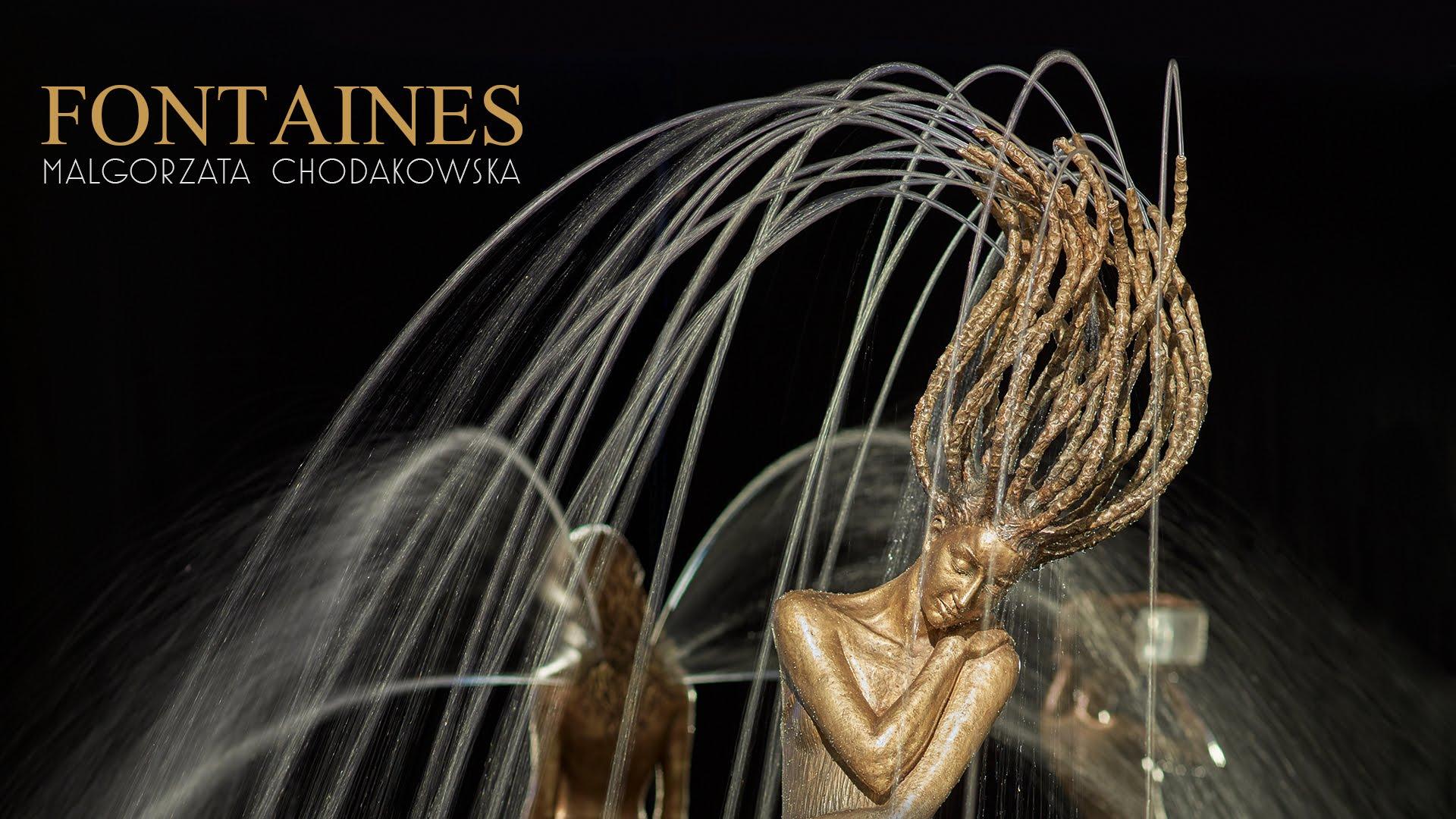 爷爱怀旧 YouTube每日视频精选 波兰艺术家 Małgorzata Chodakowska 和她设计的喷水铜雕 微博@爷爱怀旧 爷爱怀旧