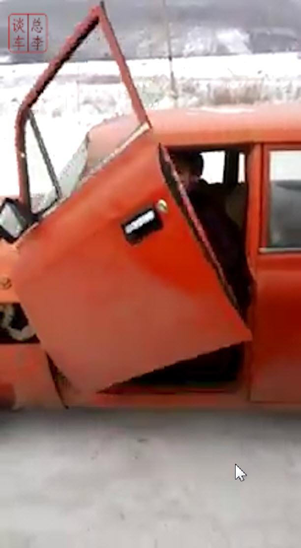 大爷开车门那一刹那,我震惊了!