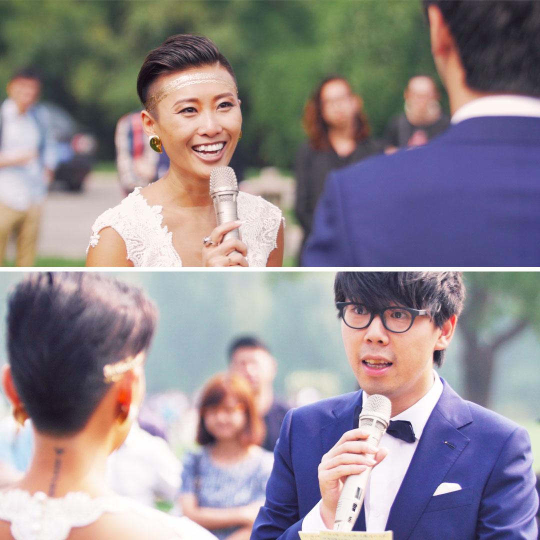 微在不懂爱 婚礼 爱情导师娶了个比她头发还长的男人,他们的婚礼誓言居然是这样的 微在不懂爱 婚礼 婚姻 爱情 誓言