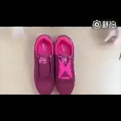 吊炸天的鞋带系法
