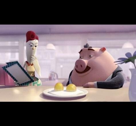美国爱情动画短片《煎蛋与爱人》,喜欢是放肆,但爱是克制。
