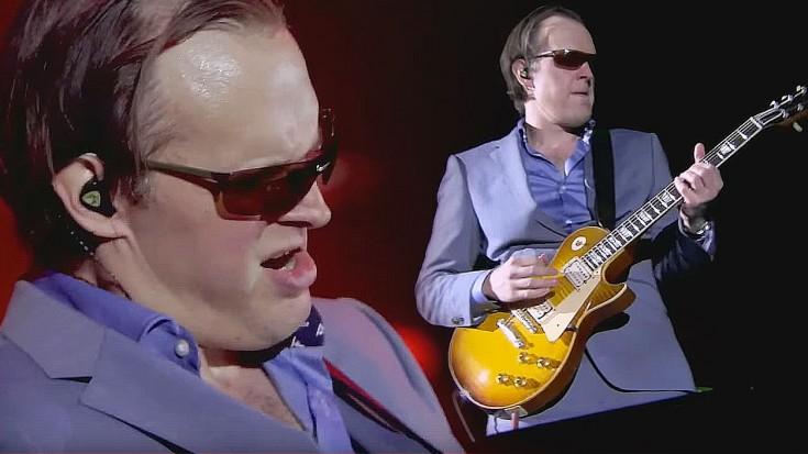【音乐】 世界吉他手 Joe Bonamassa 蓝调的摇滚吉他火爆的很